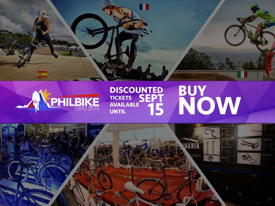 PHILBIKE Expo 2015 Phillippines October 2015