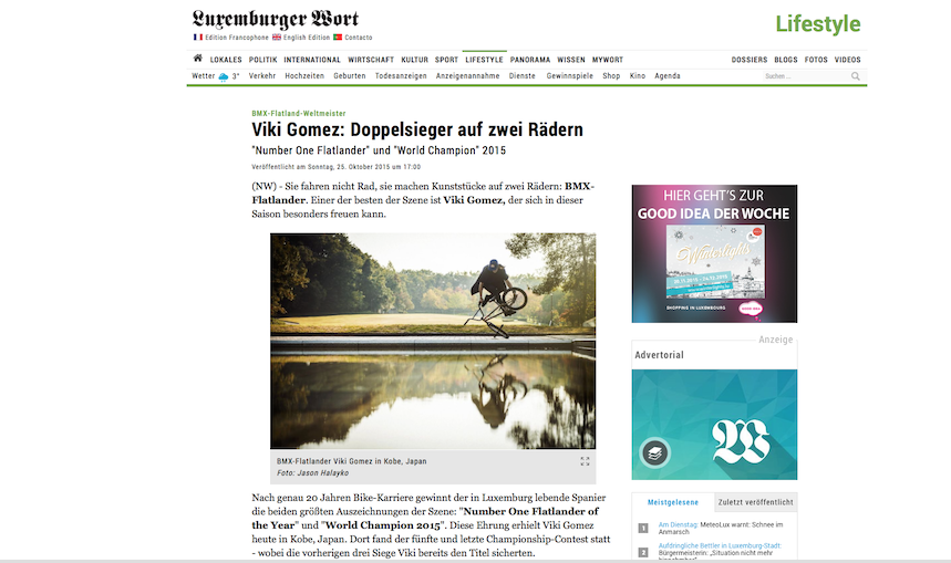 Luxemburger Wort - October 2015